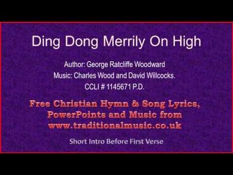 Ding Dong Merrily On High(MP114) - Christmas Carols Lyrics & Music