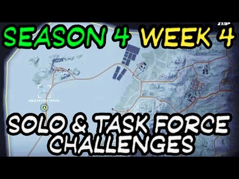 All Solo & Task Force Challenges of Season 4 Week 4 🞔 Ghost Recon Wildlands 🞔 3 solos 1 task force
