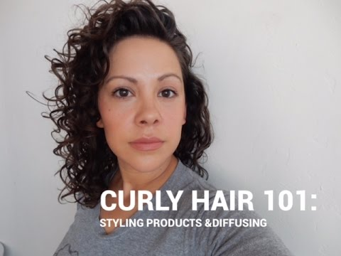 Curly Hair 101   Styling Diffusing
