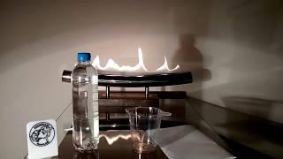 Биокамин настольный, видео обзор