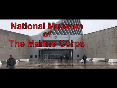 National Museum of The Marine Corps in 4K - #IAmACreator