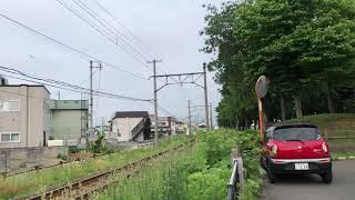 弘南鉄道弘南線7000形7153F普通弘前行き第30列車