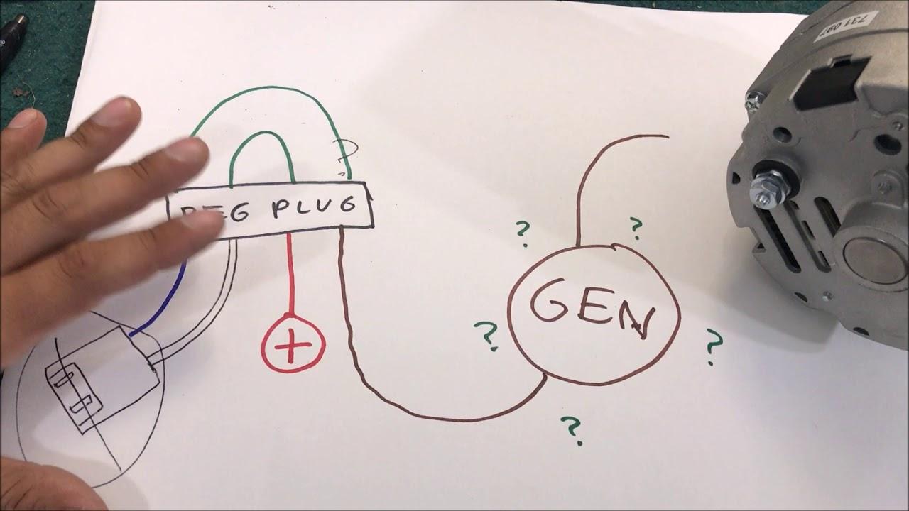 GM 1 wire 100 amp alternator UPGRADE and INFO diy  YouTube