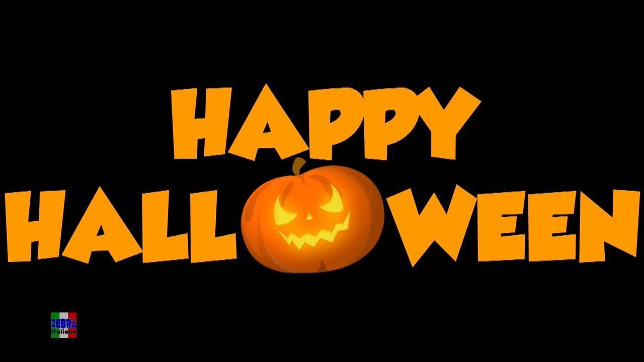 Canzoncine Halloween.Preparati Alla Paura Halloween Zucca Canzone Di Halloween Prepare For Fright Zebra Italiano Youtube