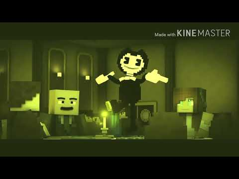 NIGHTCORE  Build Our Machine  Minecraft Version Bendy And the ink machine Song By DAgames