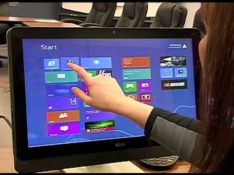 Windows 8 Tutorial - Touchscreen And Traditional Computers