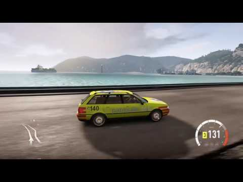 Touring Club Suisse TCS driving recklessly and causing accidents in Forza Horizon 2