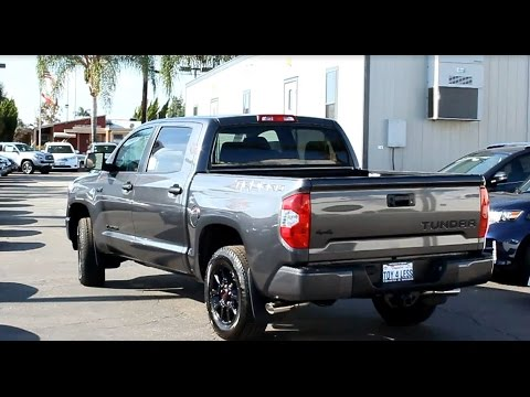 2016 tundra crewmax trd pro 4x4 5 7l v8 double cab at toyota of whittier 888 718 3693 gray grey. Black Bedroom Furniture Sets. Home Design Ideas