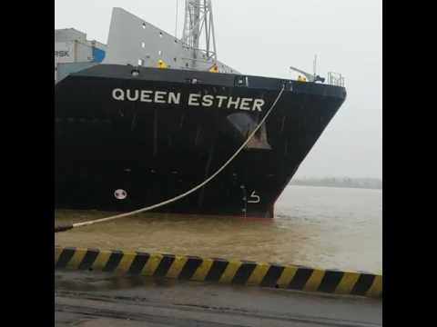 Vessel bath at Chittagong Port