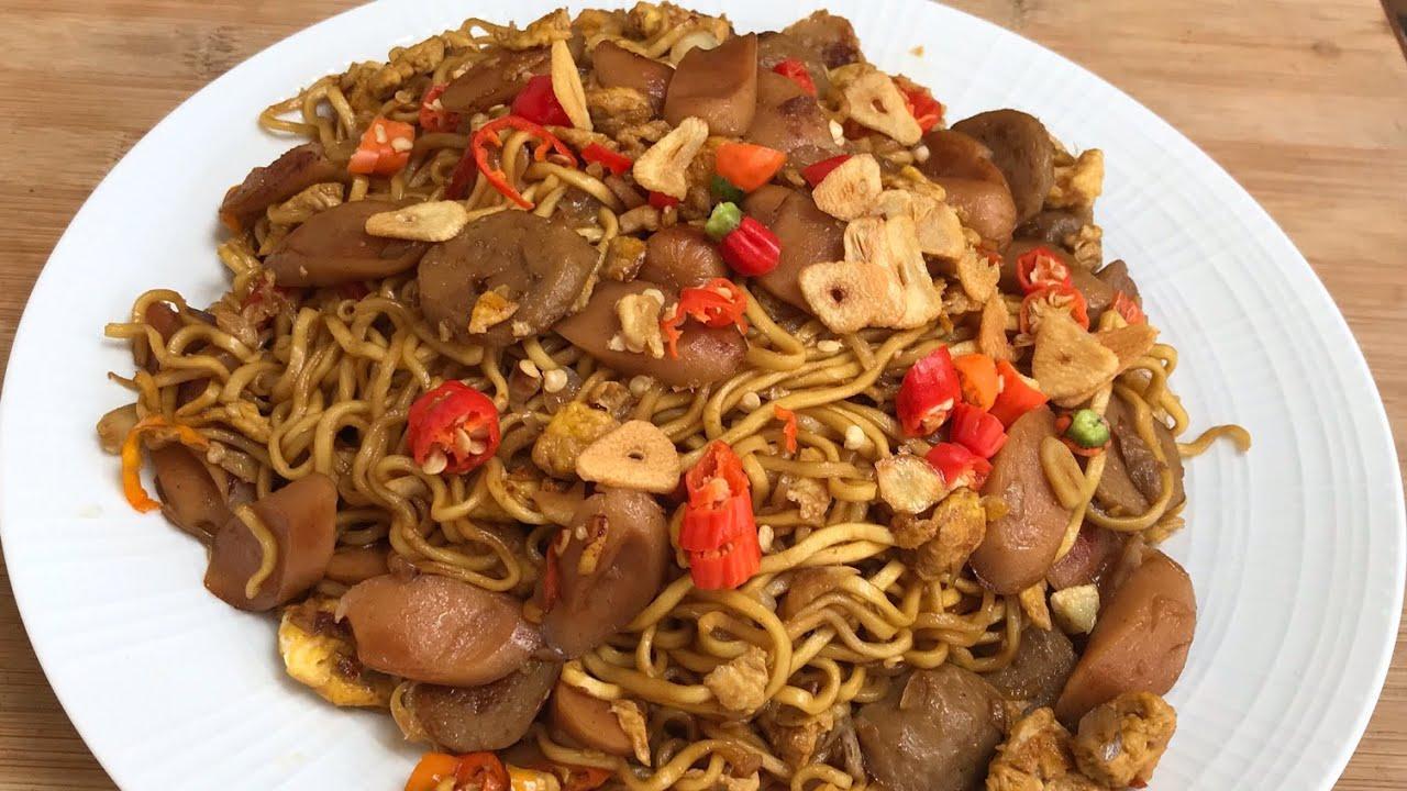 Mie Goreng Sosis Bumbu Iris Simple Praktis Enak |Fried Noodles