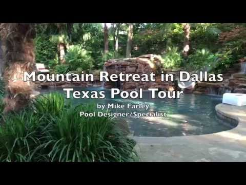 Mountain Retreat in Dallas Texas Pool Tour
