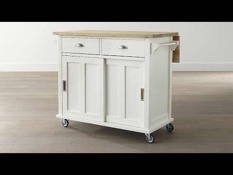 Space saving solutions 15 kitchen island carts on wheels - Space saving kitchen island ...