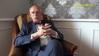 Janusz Korwin-Mikke KONKRETNIE o Unii Europejskiej