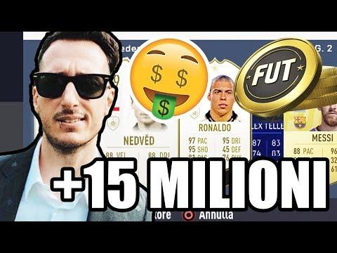 IL MIO CLUB DA + 15 MILIONI DI CREDITI SU FIFA 19! (ICON, if, champions , rivaldo, ballack messi)