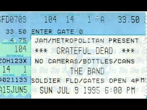 Grateful Dead - Box Of Rain (July 9, 1995, last song, last show)