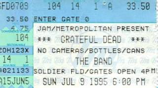 Grateful Dead - Box Of Rain (July 9, 1995, last song, last show)