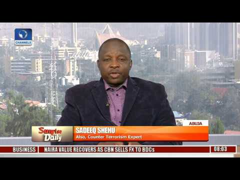 Sunrise Daily Examines Nigeria's Security Situation With Sadeeq Shehu Pt 3