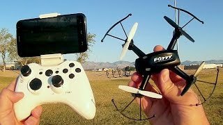 FQ777 FQ10a FPV Altitude Hold Micro Camera Drone Flight Test Review
