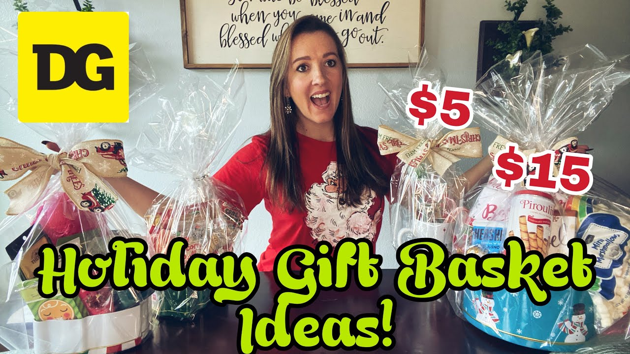 Dollar General Gift Basket Ideas 2020! - 4 Baskets from $5 to $15!
