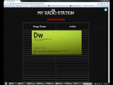 My Radio Template