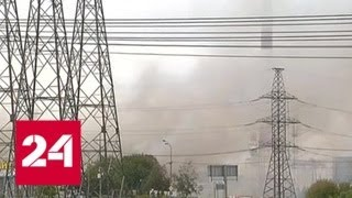 Пожар на ТЭЦ-27  в Мытищах ликвидирован полностью - Россия 24