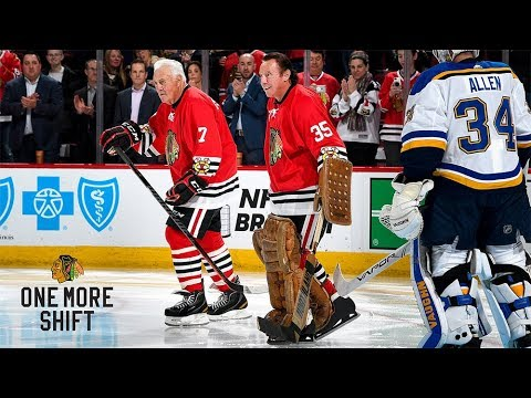Phil and Tony Esposito take One More Shift | Chicago Blackhawks