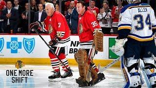 Phil and Tony Esposito take One More Shift | Chicago Blackhawks