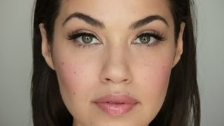 Easy Everyday Makeup Tutorial (with a bit of glam) | Eman