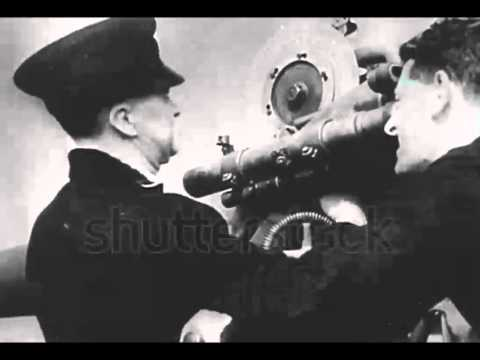 Live WWII BBC reporter out at sea....listen!