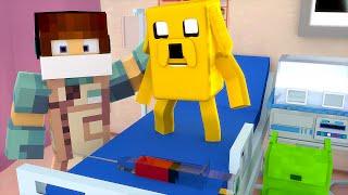 Minecraft: CIRURGIA NO JAKE !! - ( Hora de Aventura Minecraft)