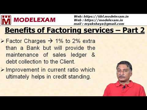 JAIIB - PPB - Benefits of Factoring Services