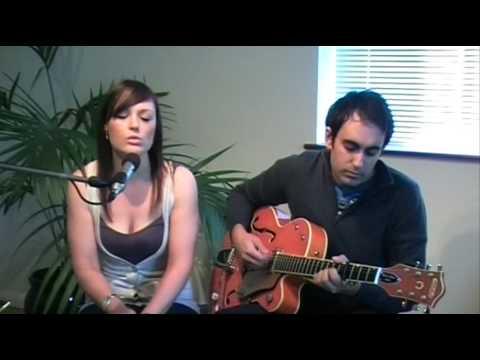 stars go blue acoustic - Allie vocals, Matt guitar