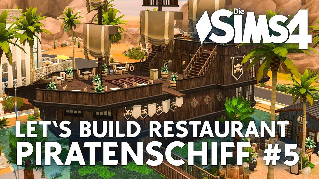 Die sims 4 gaumenfreuden release showcase restaurant gameplay pack - Die Sims 4 Let S Build Piratenschiff 5 Restaurant Bauen In Gaumenfreuden
