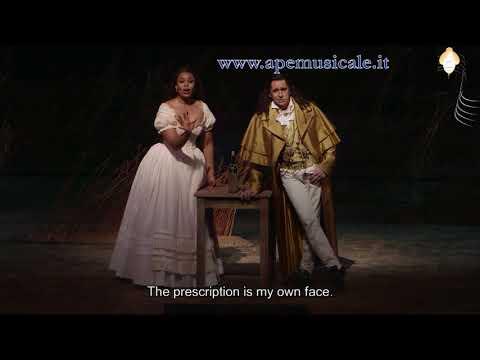 Pretty Yende-Ildebrando d'Arcangelo: Una tenera occhiatina, Met 2018
