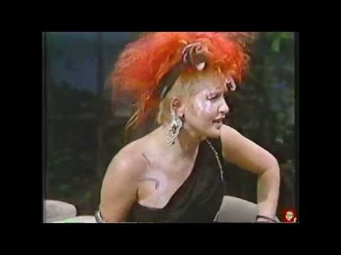 Cyndi Lauper  The Tonight Show  Sept 21, 1984  Complete