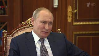 О работе над новой вакциной от коронавируса президенту доложила глава ФМБА Вероника Скворцова