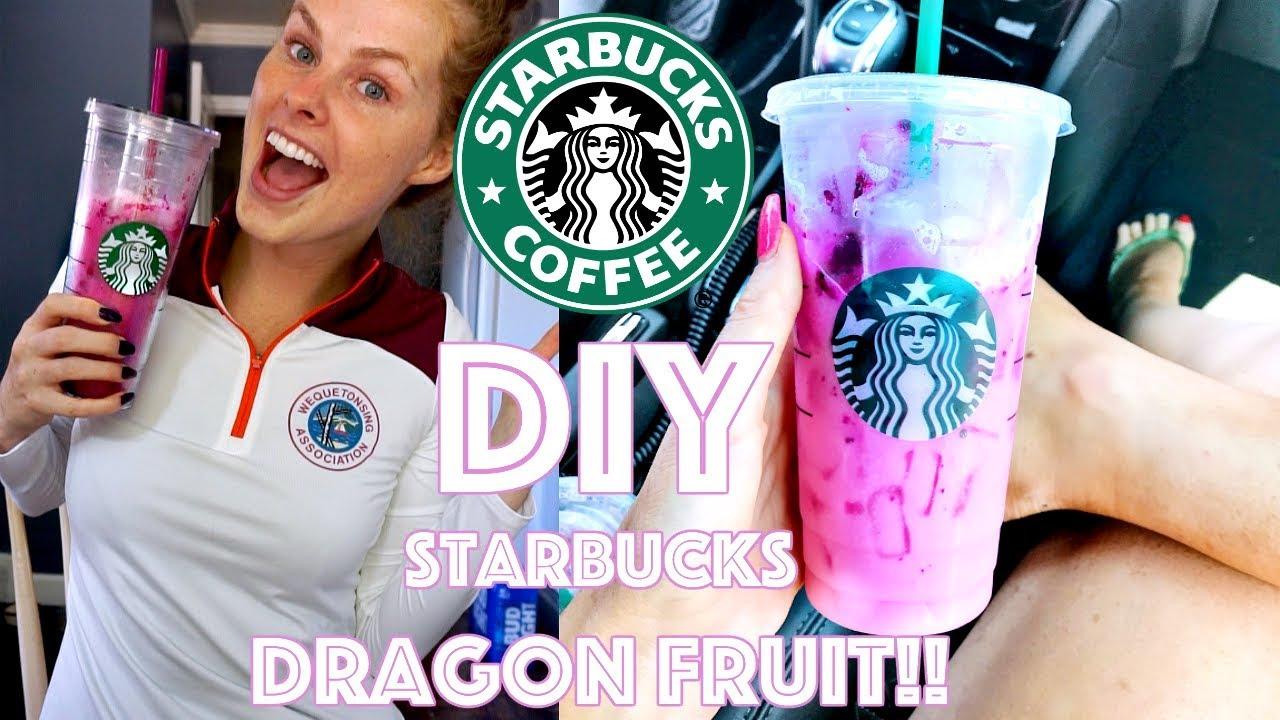 Diy Starbucks Dragon Fruit
