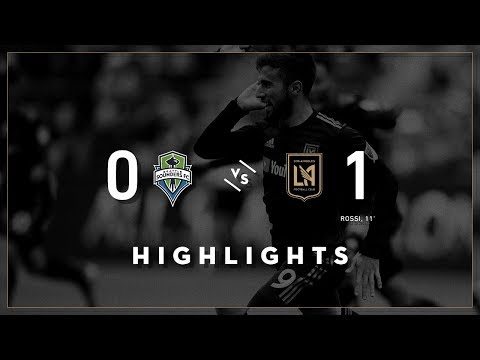 LAFC vs. Seattle Sounders | Full Highlights