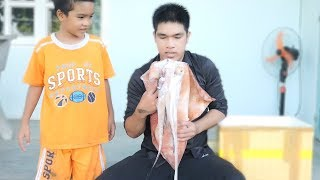 Nướng Nguyên Con Mực Khổng Lồ Siêu Cay Ăn Cho Sướng Mồm   TQ97