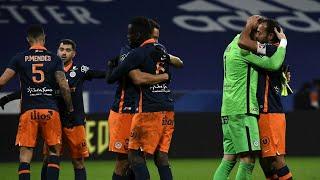 Монпелье прервал победную серию Лиона в чемпионате Франции