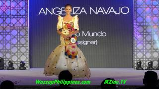 Miss Teen Earth 2014 Gala Night Recycled Materials National Costume Competition Part 3