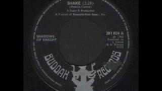 SHADOWS OF KNIGHT - SHAKE  - UK BUDDAH 1968 - SIXTIES GARAGE BAND