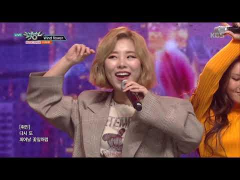 뮤직뱅크 Music Bank - Wind Flower - 마마무(MAMAMOO).20181214