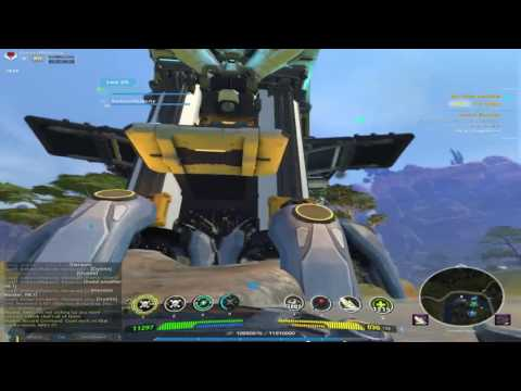 Firefall PvE Free Roam Duo Accord Skydock Cargo Ship Defense Event