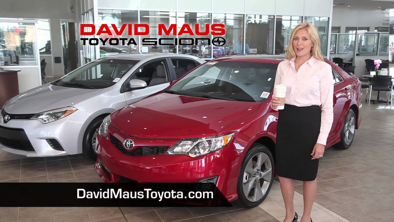 Marvelous David Maus Toyota   Drive A Toyota For Price Of A Latte! :15   YouTube