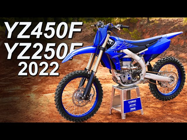 2022 Yamaha YZ250F & YZ450F Updates   What's New   Pricing