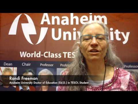 Ed D  in TESOL Student Randi Freeman