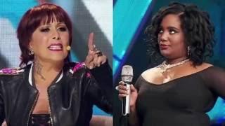 ¡Explota! Alejandra Guzmán se puso al 'tú por tú' con concursante de 'Va por ti'