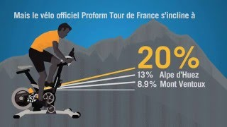 Animation velo Proform Tour de France