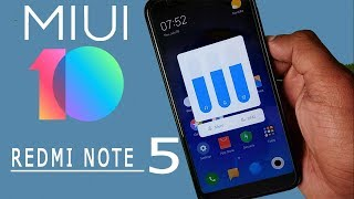 Install MiUi 10 on Your Redmi Note 5/Redmi 5 Plus Right Now!